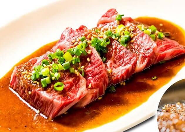 焼肉きっず のハラミ肉画像