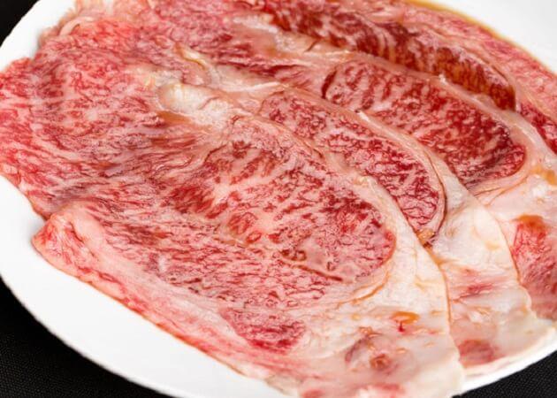 焼肉 貴文(キモン) のロース肉画像
