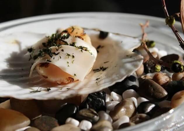 オステリア ヨシエの魚介料理