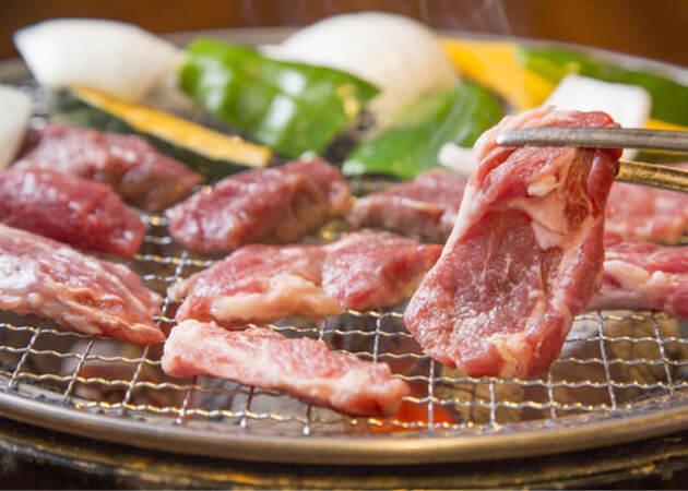 ホルモン酒場風土のラム肉