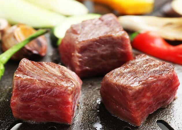 焼和牛賽の焼き肉