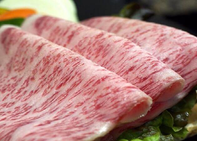 和牛の紀楽 のお肉